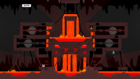 Super Meat Boy Trailer Screenshot