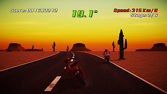 Super Night Riders - Screenshot INDEX