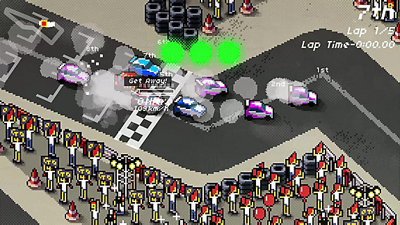 Super Pixel Racers - Screenshot INDEX