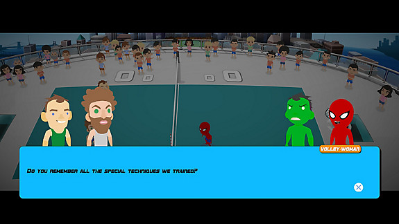 Super Volley Blast screenshot