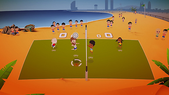 Super Volley Blast - Screenshot INDEX