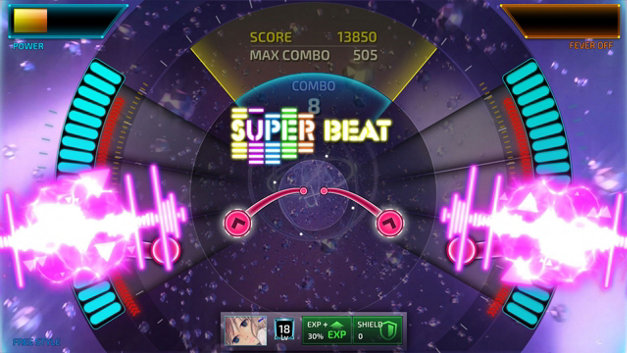 SUPERBEAT: XONiC Screenshot 1