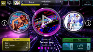 SUPERBEAT: XONiC Screenshot 2