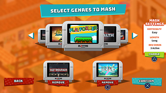 SuperMash - Screenshot INDEX