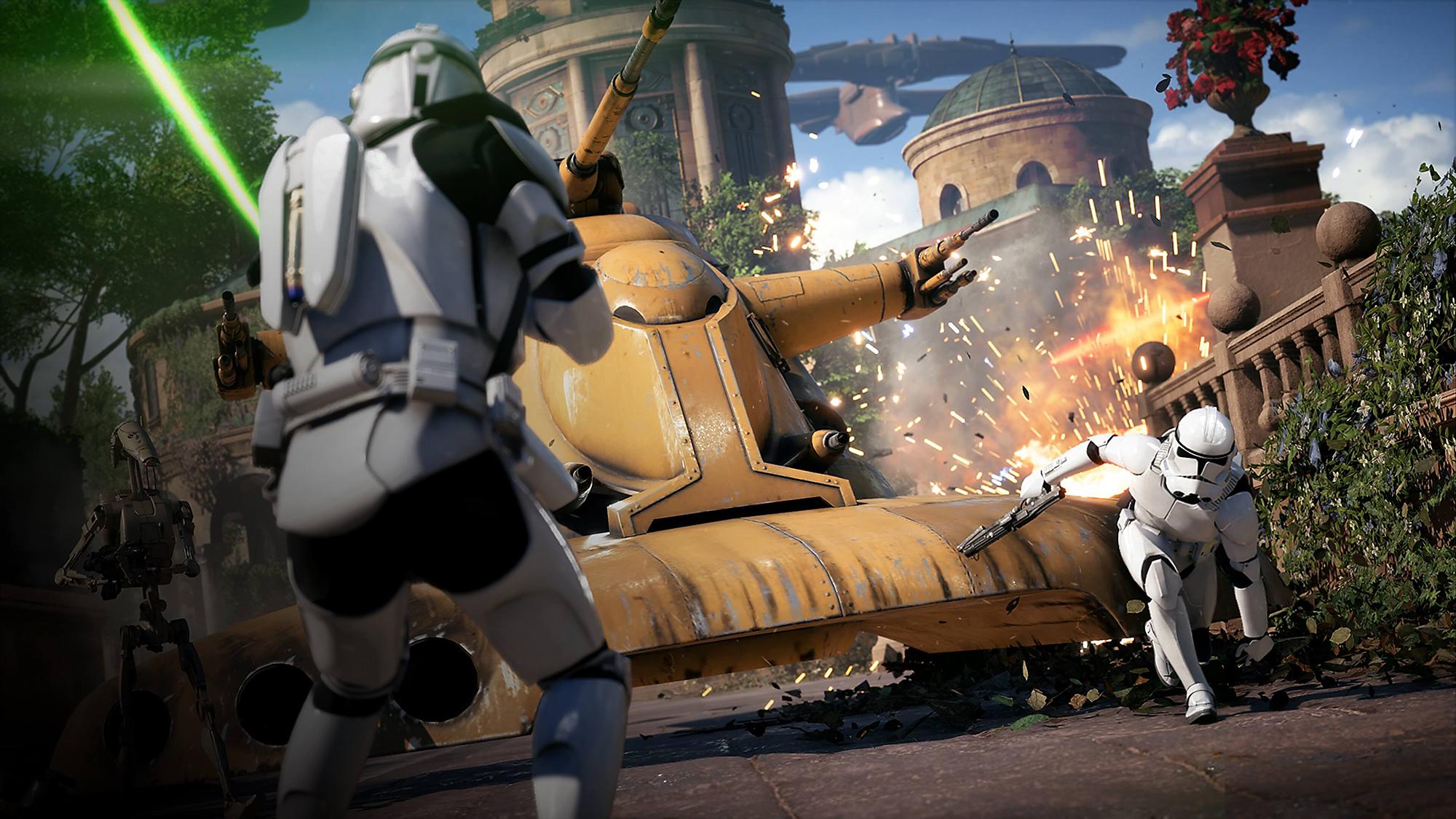 star wars battlefront 7 minutes of gameplay