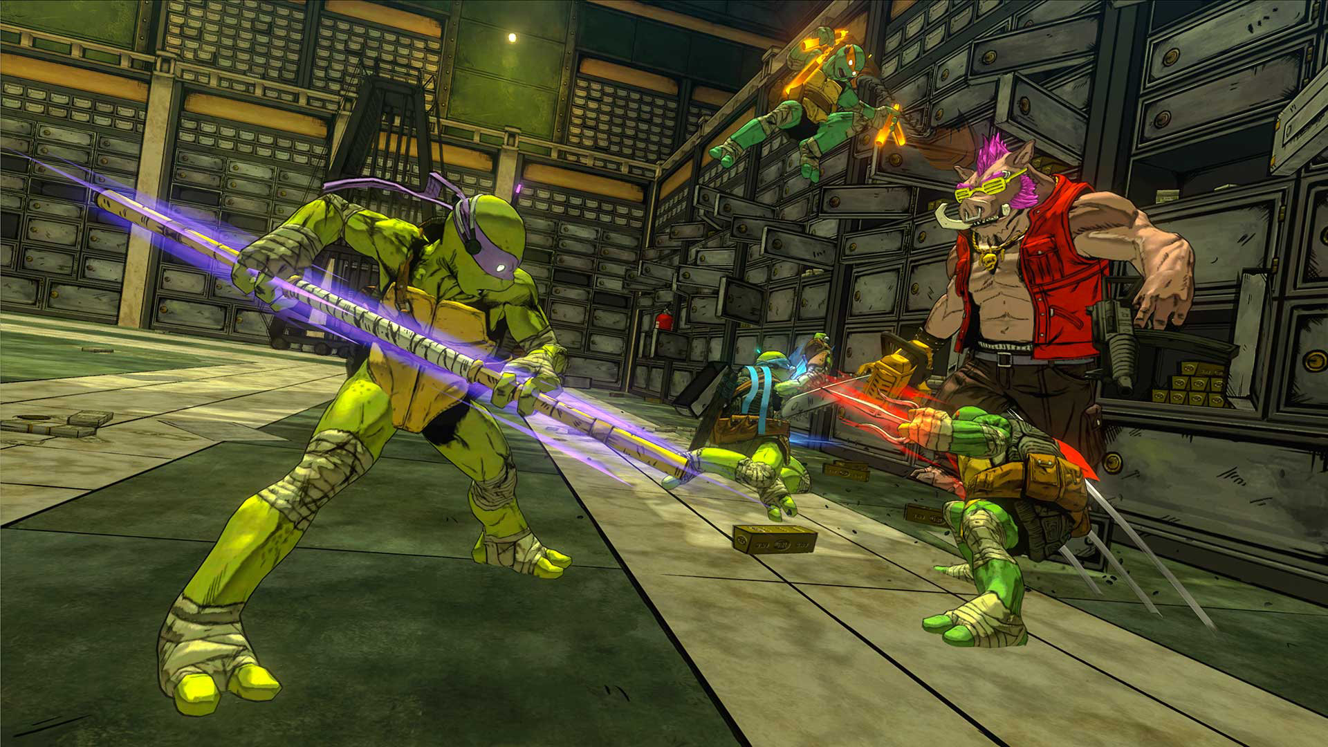 Ninja Turtle Sewer Background