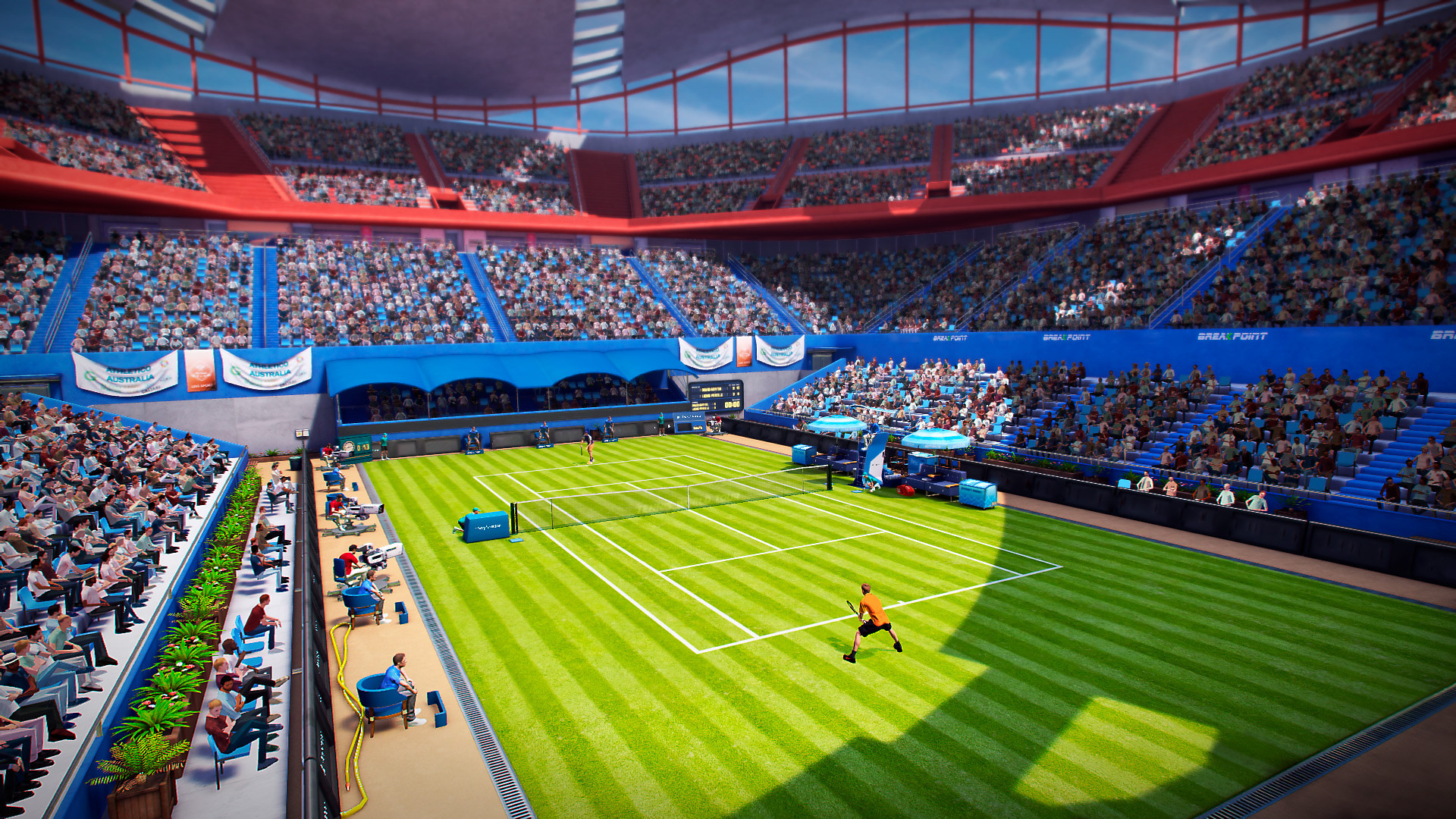 Overview of the Tennis Court