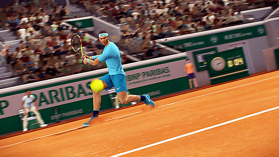 Tennis World Tour: Roland-Garros Edition - Screenshot INDEX