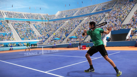 Tennis World Tour Trailer Screenshot