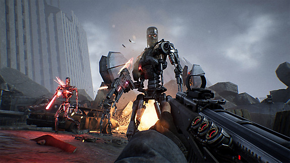 Terminator: Resistance - Screenshot INDEX