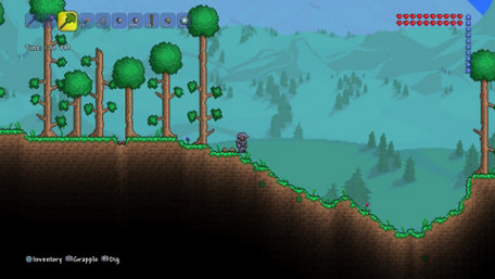 Terraria Trailer Screenshot