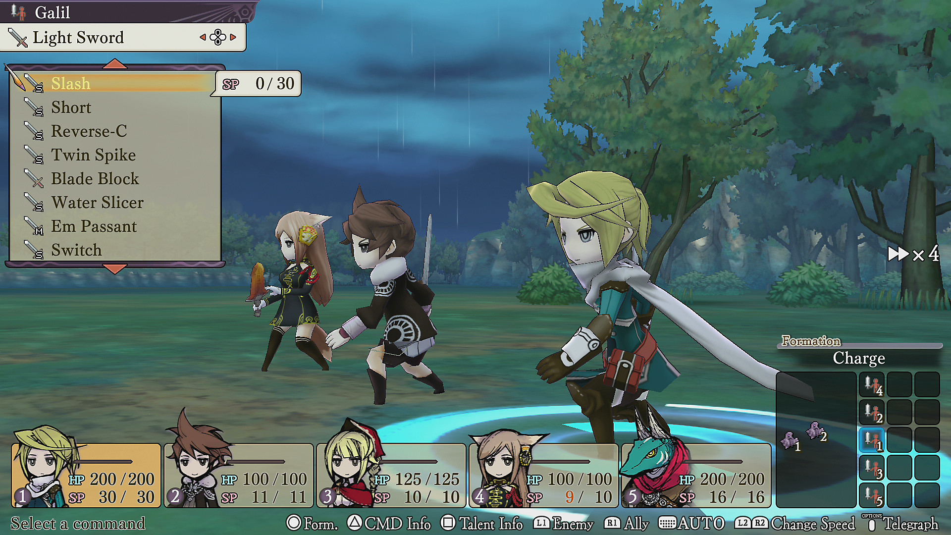 The Alliance Alive HD Remastered en acción