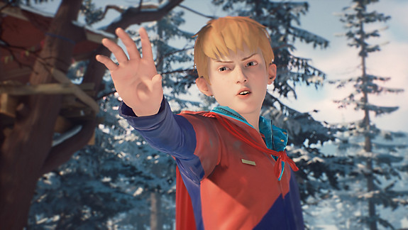 The Awesome Adventures of Captain Spirit - Screenshot INDEX