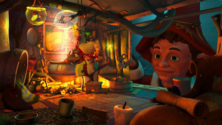 The Book of Unwritten Tales 2 Trailer Screenshot