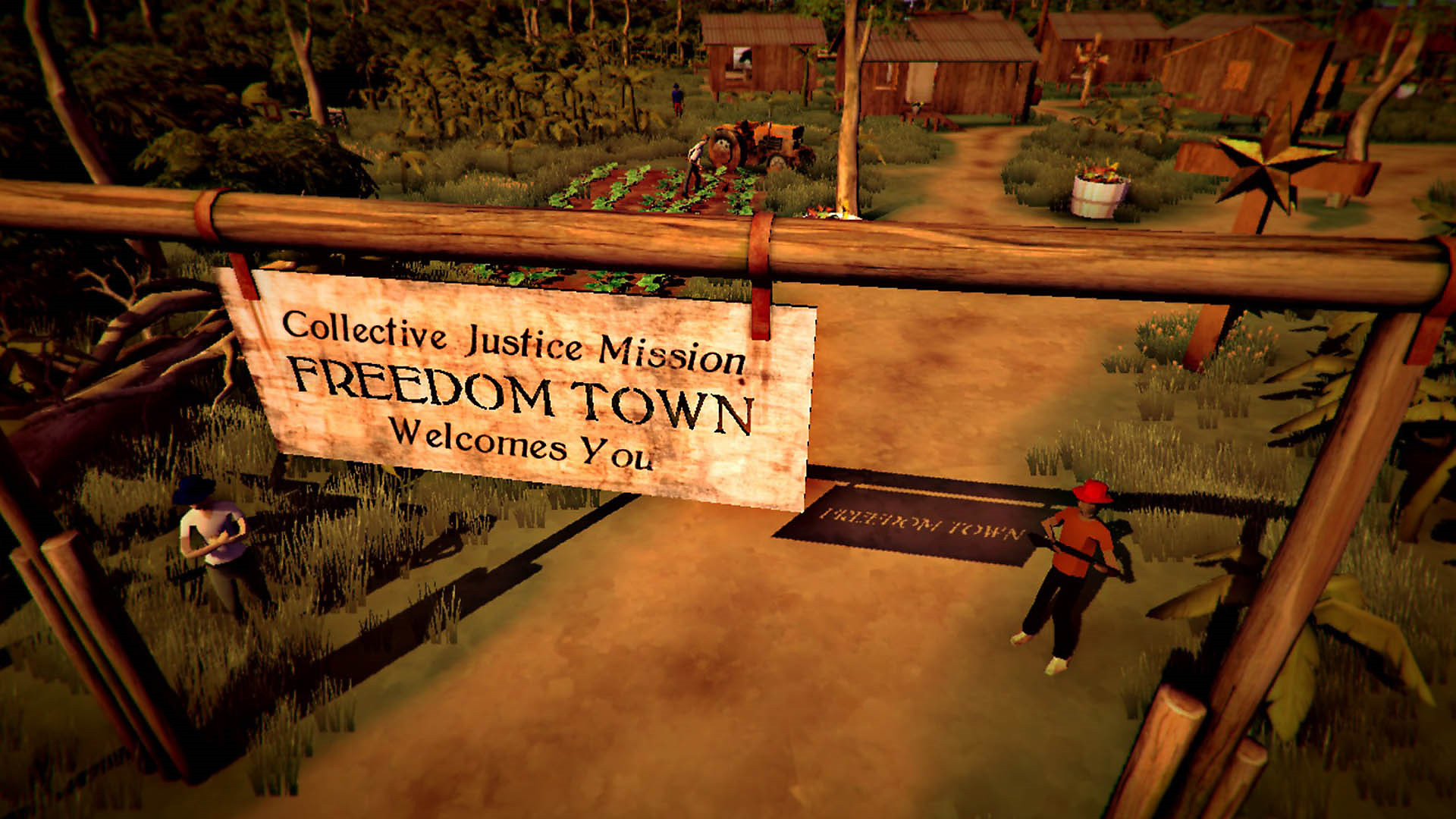Freedom Town Welcomes You