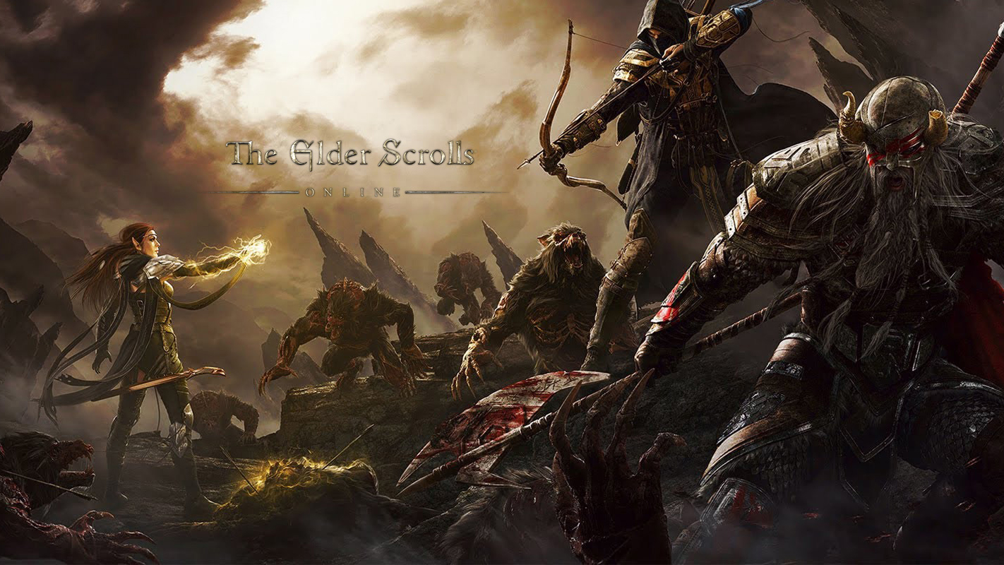 The Elder Scrolls Online Tamriel Unlimited Game Ps4 Playstation