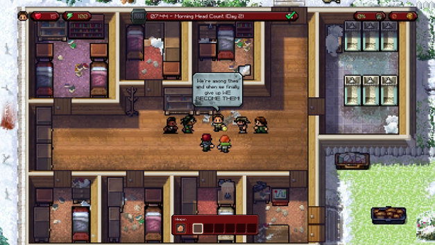 The Escapists: The Walking Dead Screenshot 1