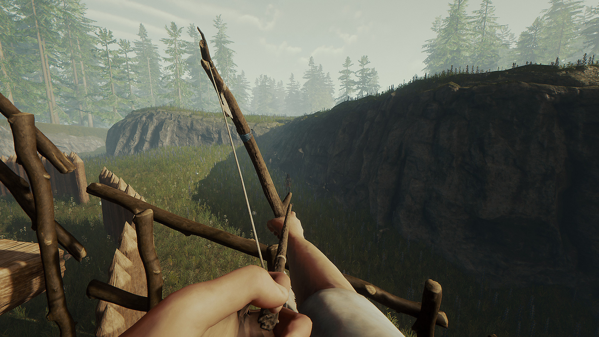 First person bow