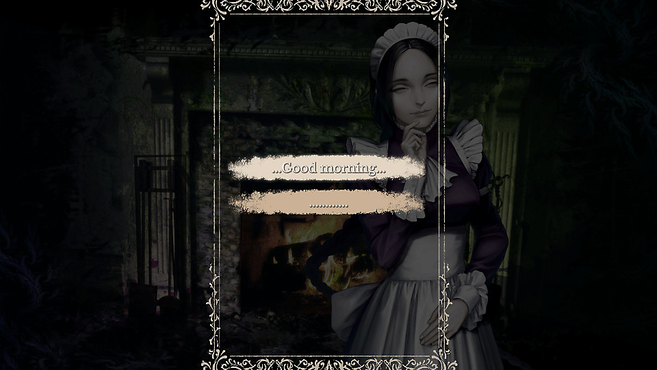 Options de dialogue de The House in Fata Morgana
