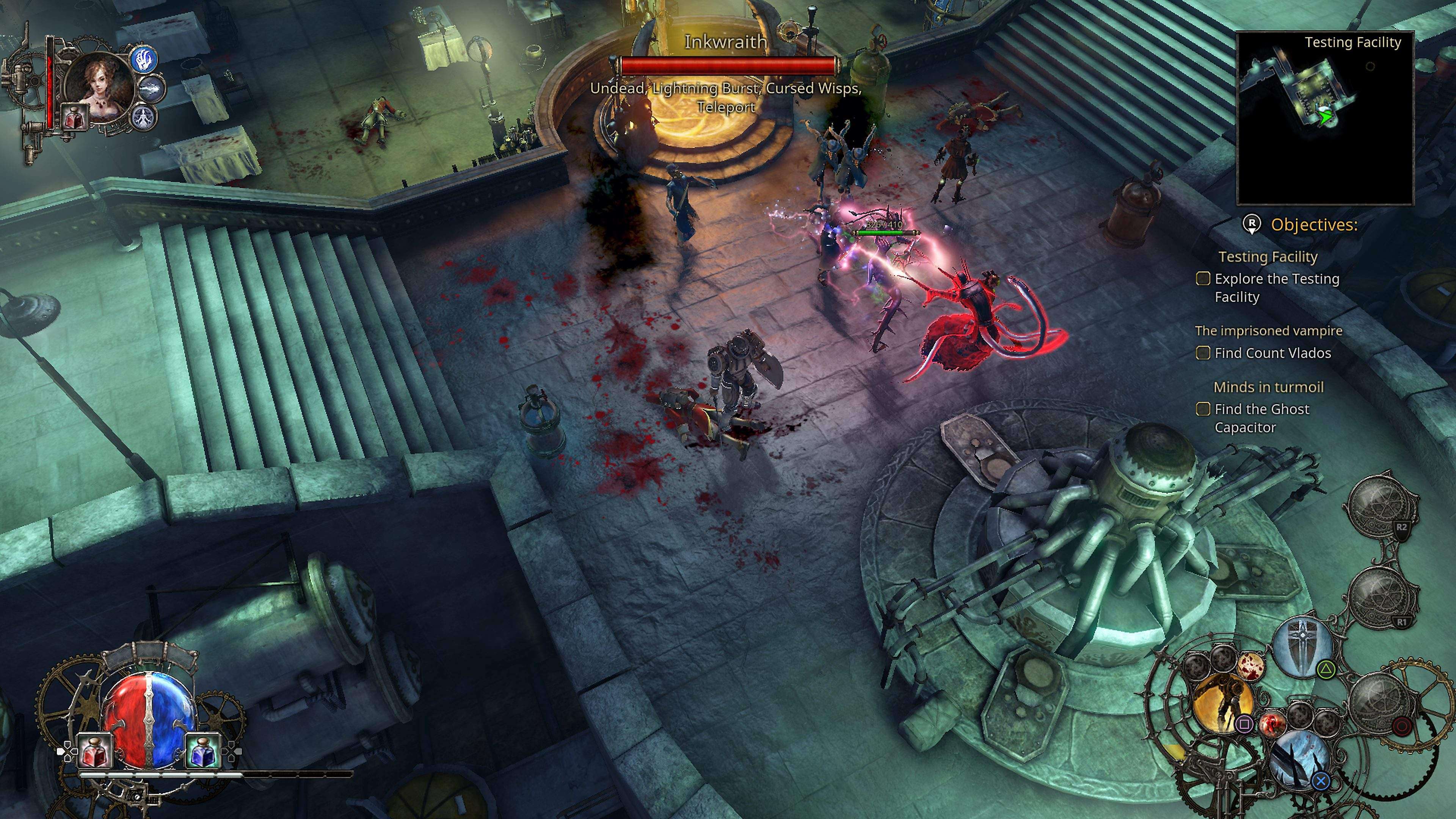 The Incredible Adventures of Van Helsing III en acción