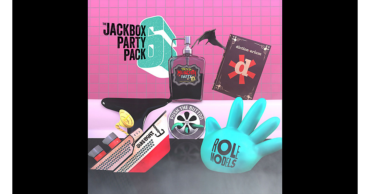 The Jackbox Party Pack 6 Game | PS4 - PlayStation