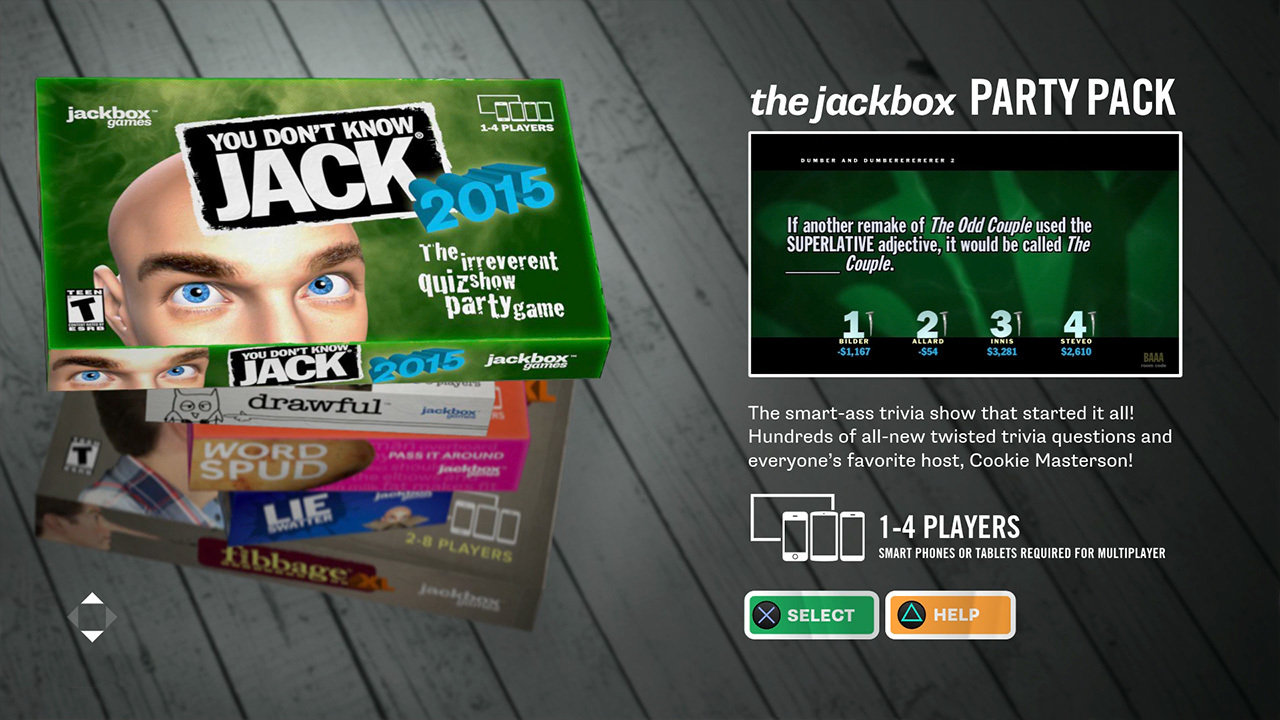 The Jackbox Party Pack Game | PS4 - PlayStation