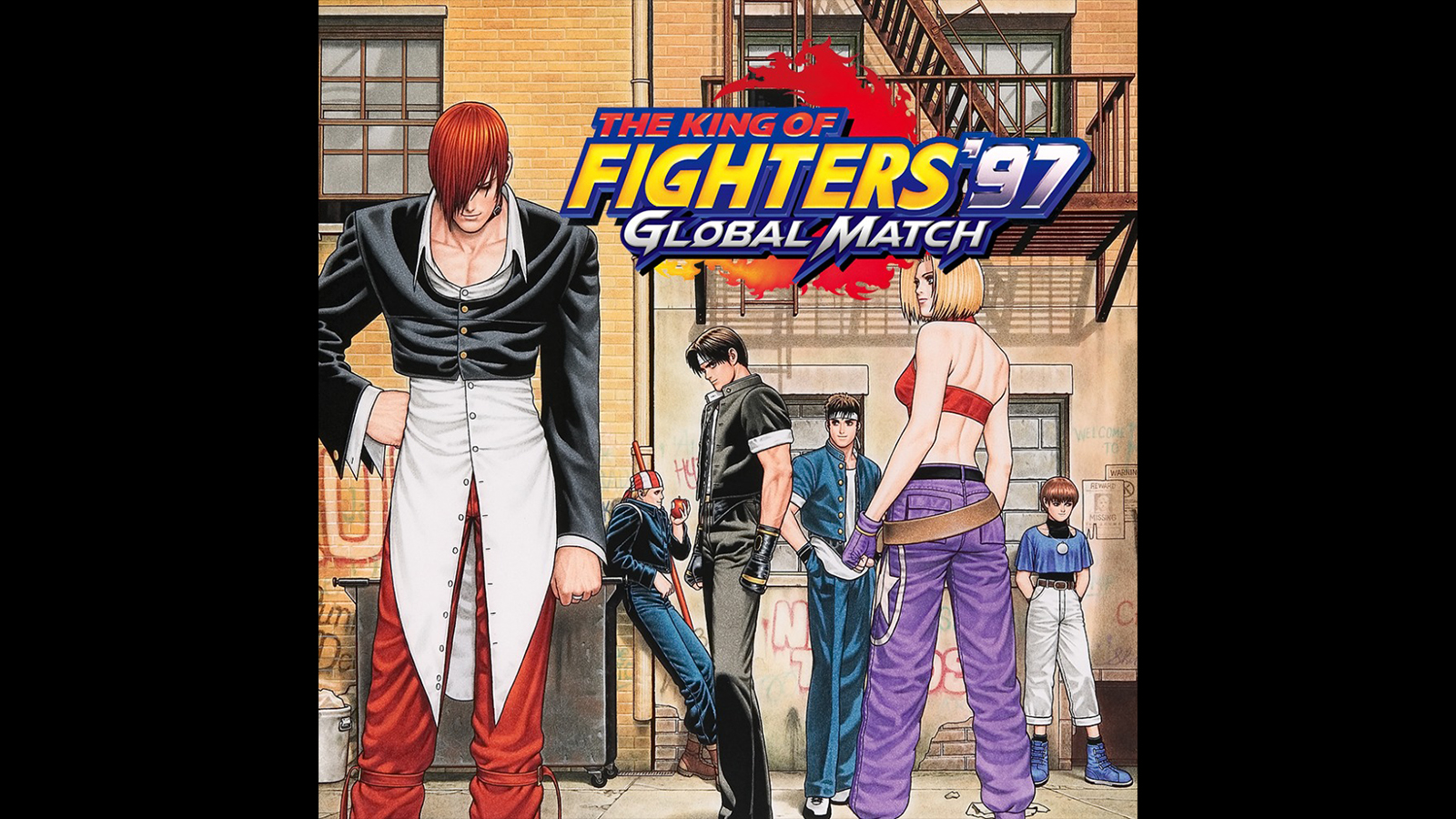 The King Of Fighters 97 Global Match Game Psvita Playstation