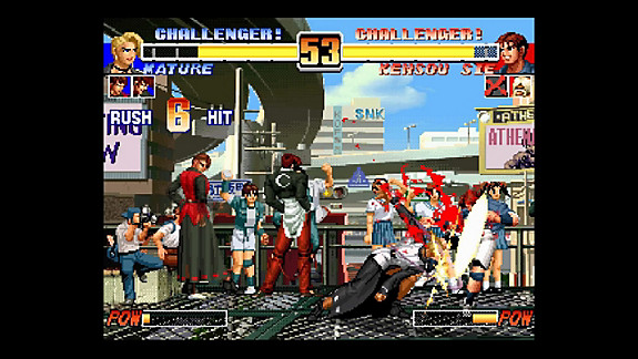 THE KING OF FIGHTERS™ 'COLLECTION: THE OROCHI SAGA - Screenshot INDEX