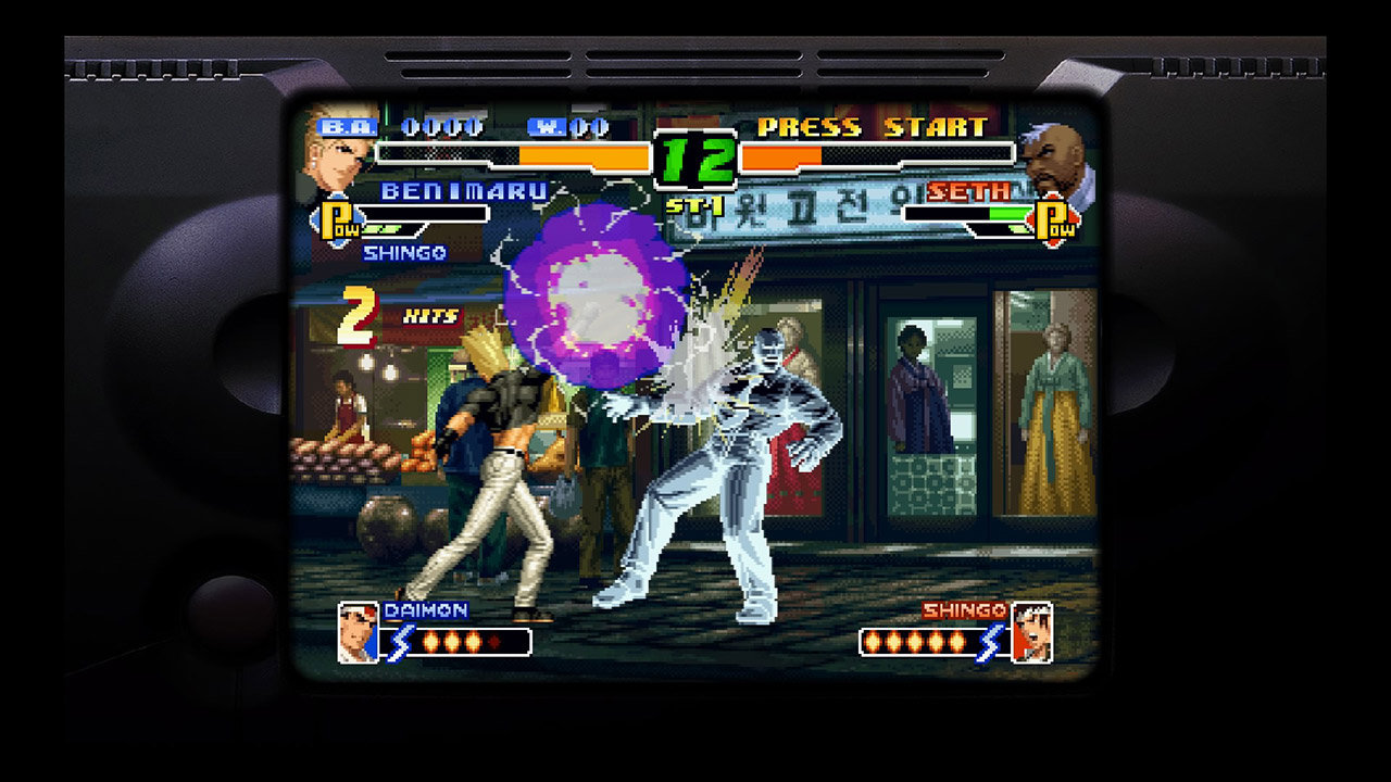 The King Of Fighters 2000 Game Ps4 Playstation