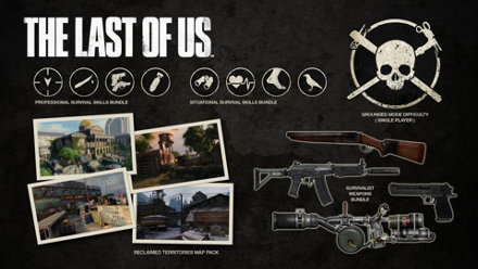 The Last Of Us Game PS PlayStation - The last of us dlc maps