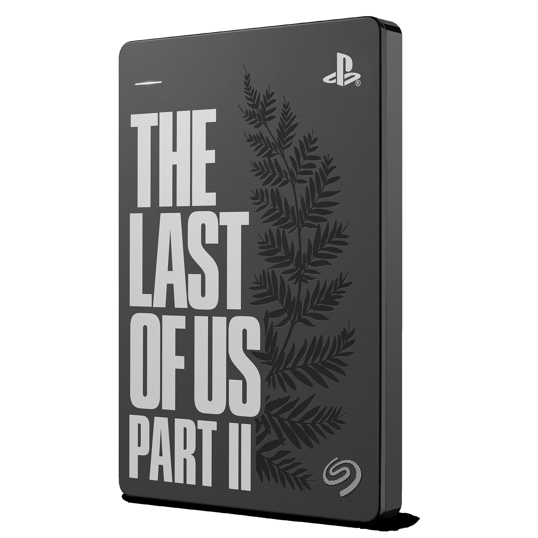 Disco duro portátil externo HDD: USB 3.0 STGD2000103 diseñada para PS4  Seagate Game Drive para PS4 2 TB The Last of Us II Special Edition  Almacenamiento de datos Electrónica