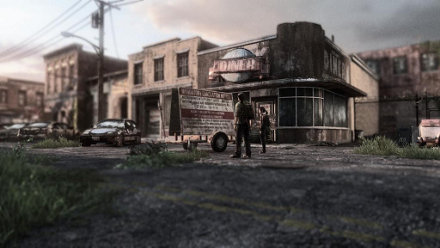 The Last Of Us Remastered Game PS PlayStation - The last of us abandoned territories map pack