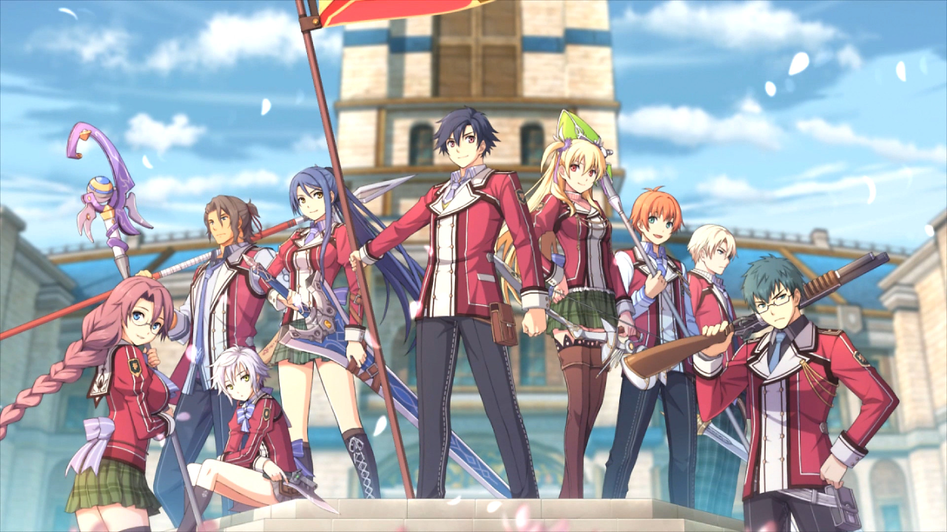 The Legend Of Heroes Trails Of Cold Steel Game Ps4 Playstation