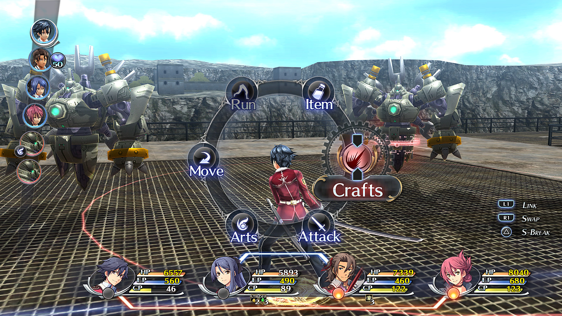 Jeu The Legend of Heroes: Trails of Cold Steel