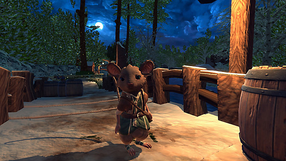 The Lost Legends of Redwall™ : The Scout - Screenshot INDEX