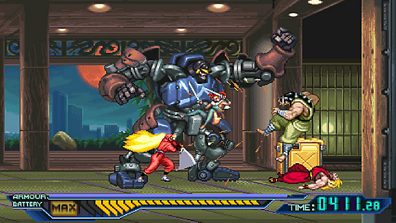 The Ninja Saviors: Return of the Warriors - Screenshot INDEX
