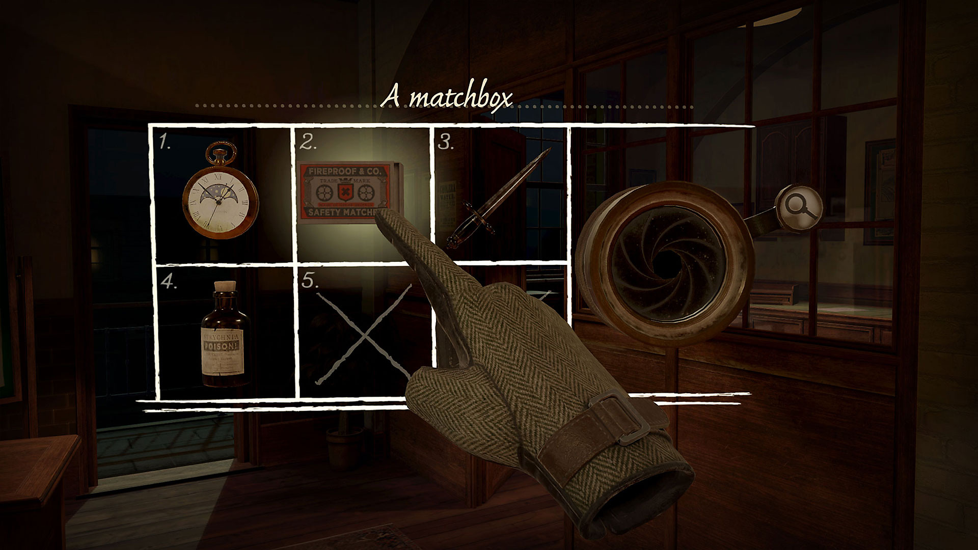 The Room VR: A Dark Matter - Inventory
