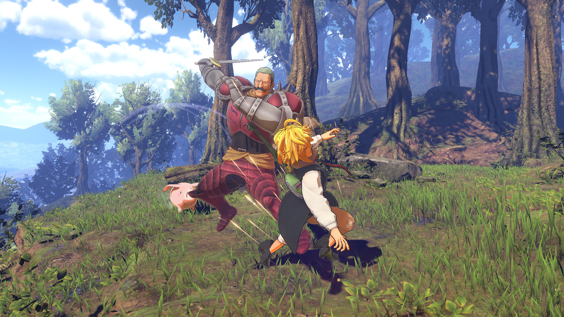 The Seven Deadly Sins: Knights of Britannia Game | PS4