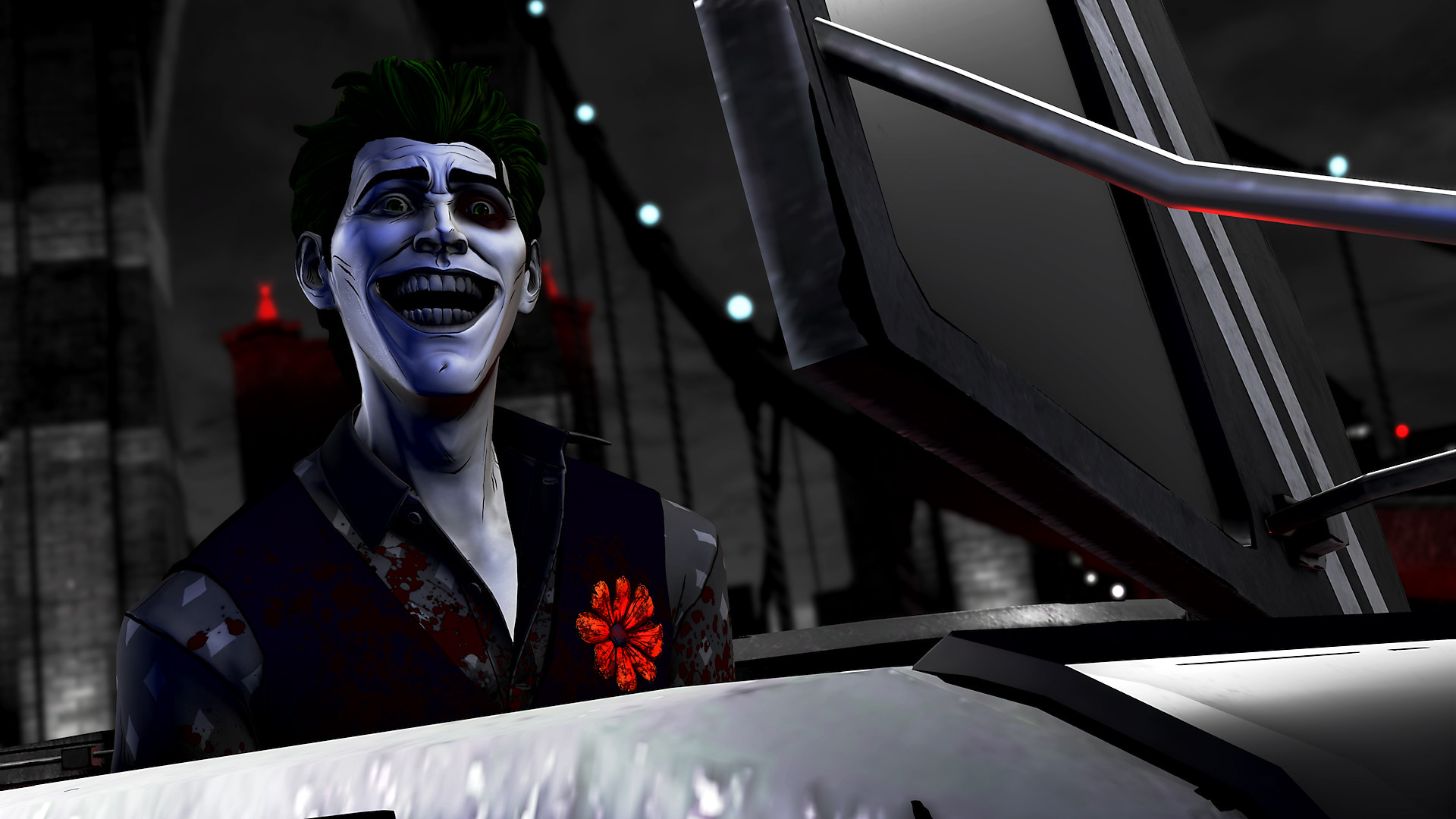 The Telltale Batman Shadows Edition en acción