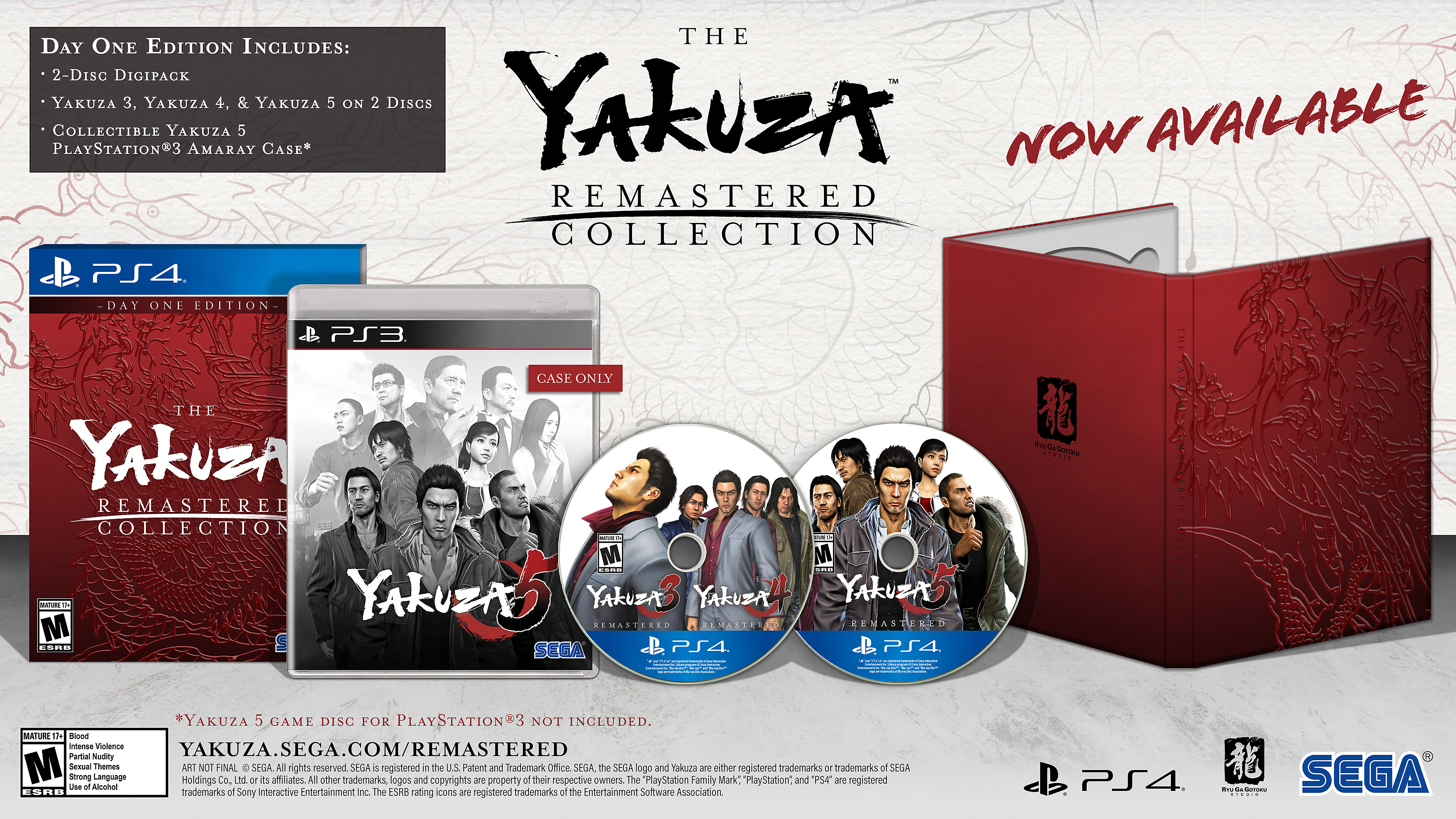 The Yakuza Remastered Collection: Physical Day One Edition