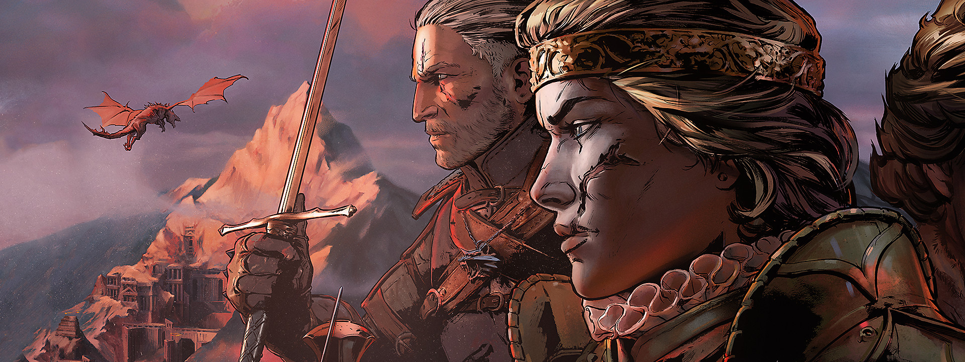 Banner del juego Thronebreaker: The Witcher Tales