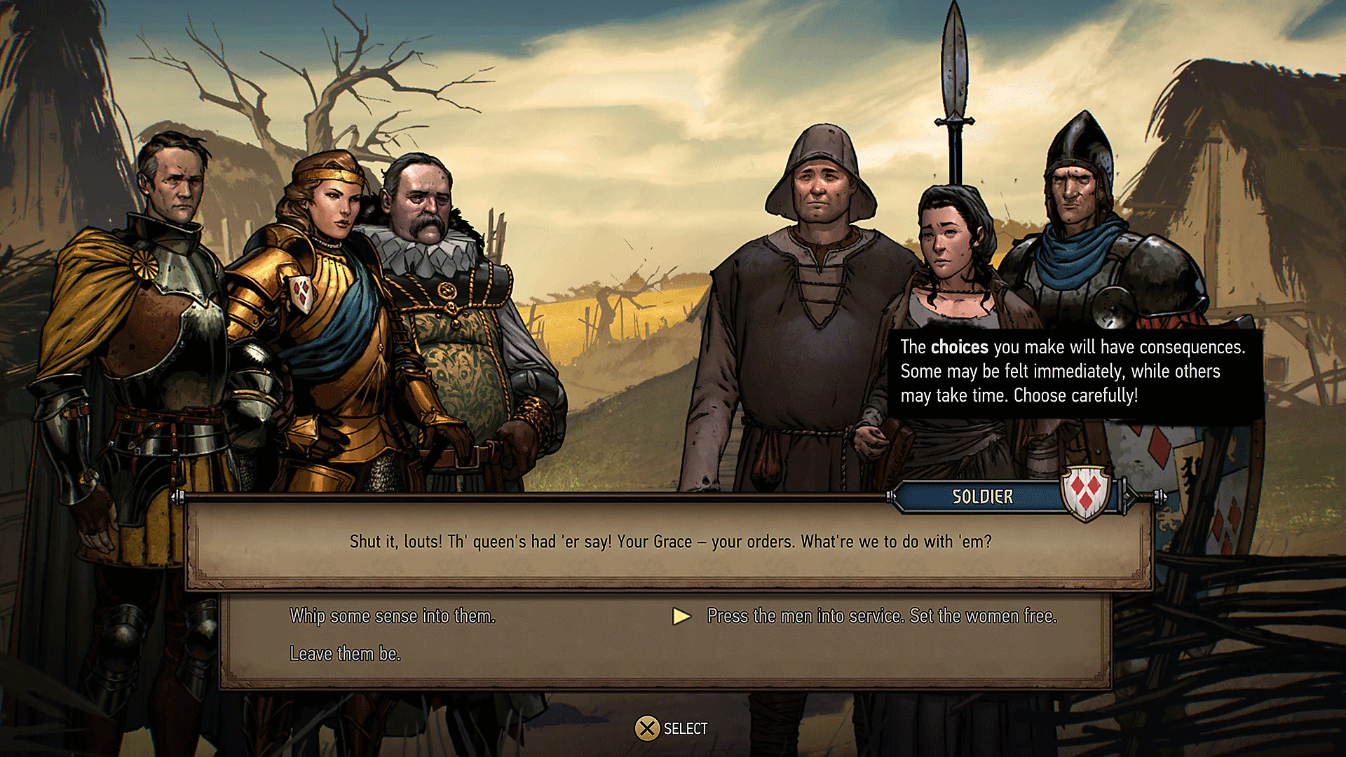 Thronebreaker - Main Features Character Dialogue