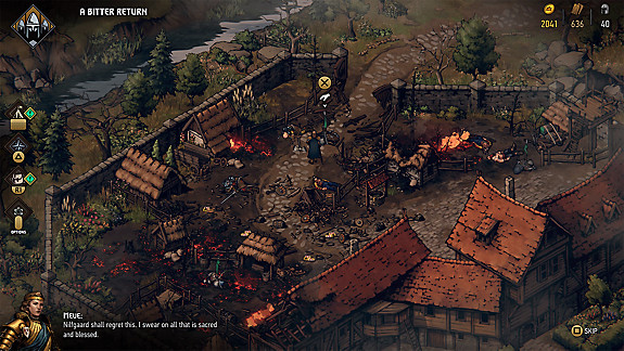 Thronebreaker: The Witcher Tales - Screenshot INDEX