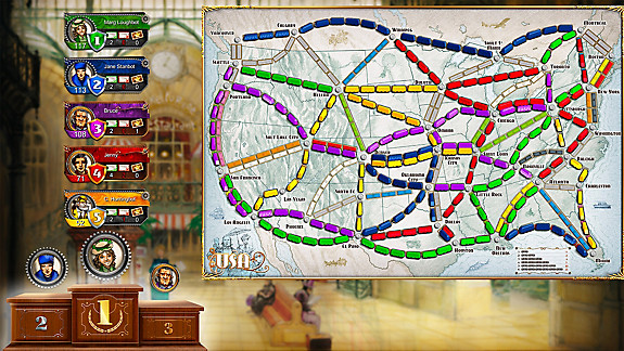 Ticket to Ride - Screenshot INDEX