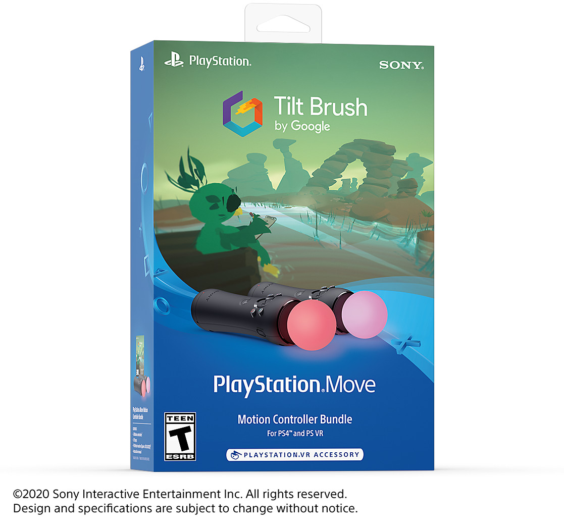 Tilt Brush PS Move Controller Bundle