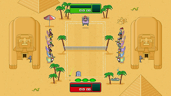 Timber Tennis: Versus - Screenshot INDEX
