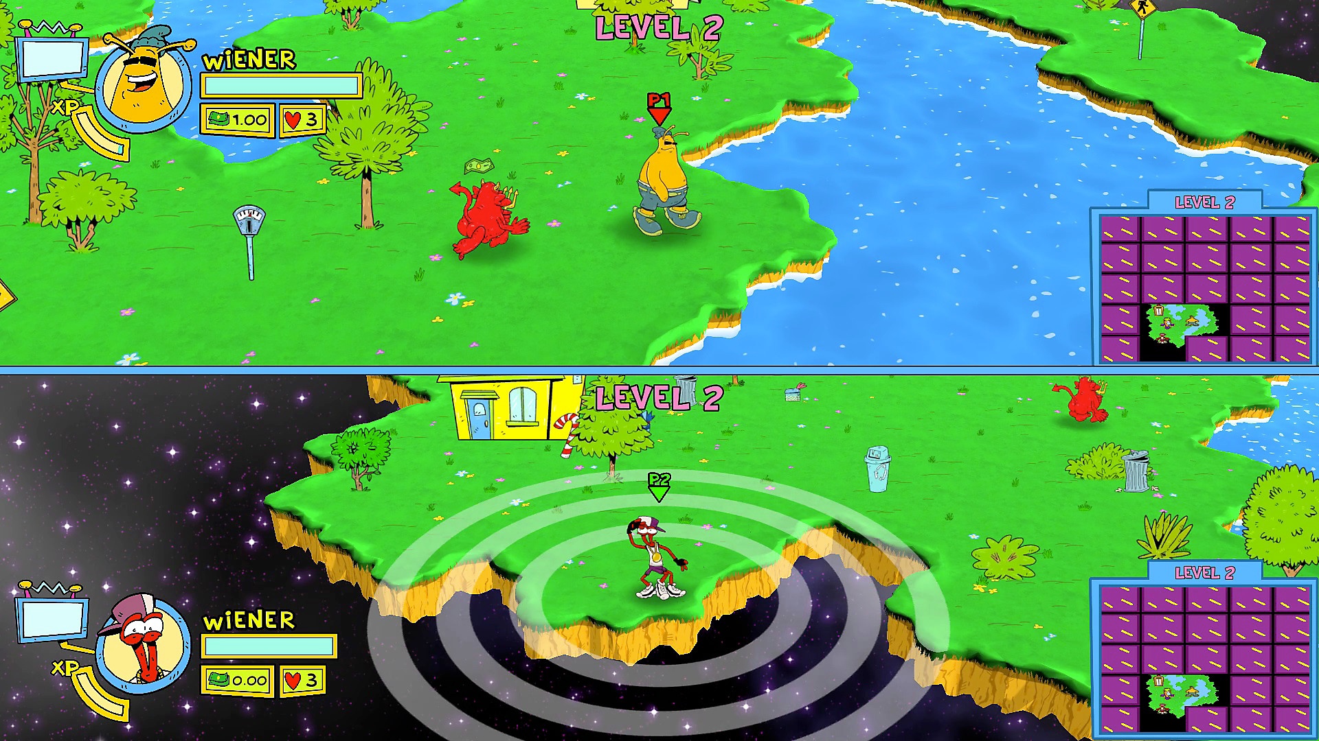 Jeu ToeJam & Earl: Back in the Groove