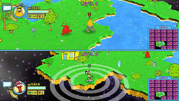 ToeJam & Earl: Back in the Groove - Screenshot INDEX