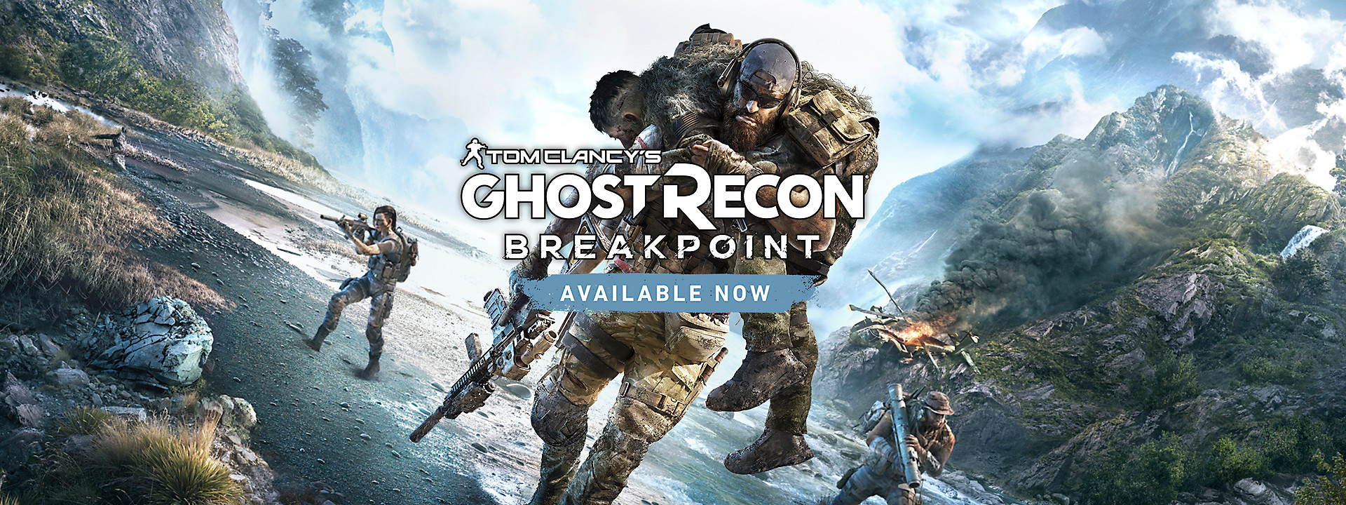 Tom Clancy's Ghost Recon Breakpoint - Now Available