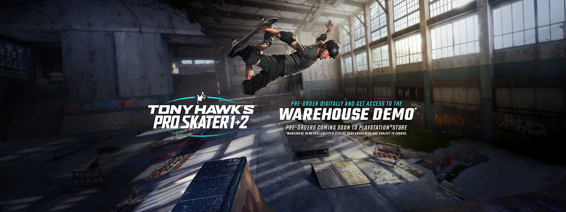 Tony Hawk's Pro Skater 1 + 2 - Pre-Orders Coming Soon